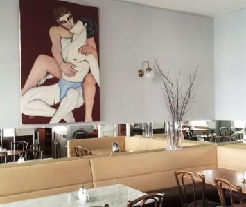 Frühstück im Café Berg in Wien