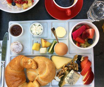 Frühstück im Rochus in Wien