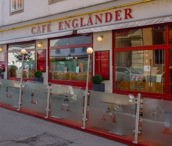 Frühstück im Café Engländer in Wien