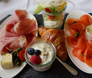 Frühstück im DO & CO Albertina in Wien