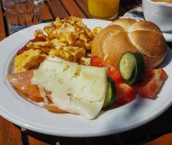 Frühstück in der Seedose in St. Pölten