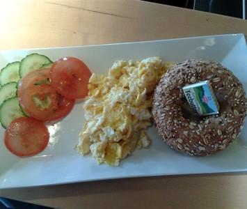 Frühstück im blueorange in Wien