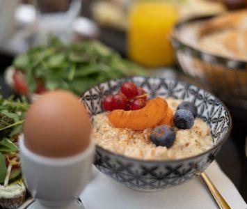 Frühstück im Café Goldegg in Wien