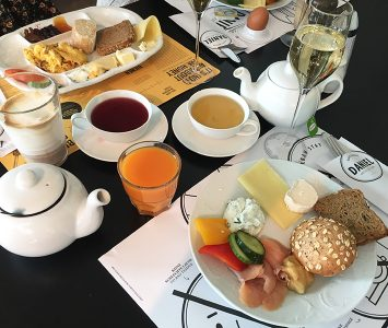 Brunch in der Daniel Bakery in Wien