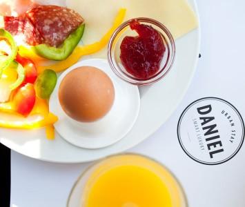 Frühstück in der Daniel Bakery in Wien