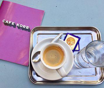 Frühstück im Café Korb in Wien