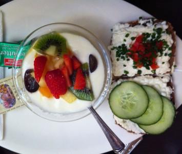 Frühstück im Café Classic in Salzburg