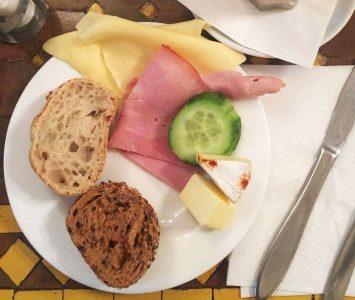 Brunch im Weltcafé in Wien