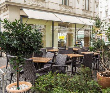 Frühstück im Café Nuss in Wien