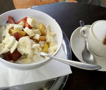 Frühstück im Café Daniel Moser in Wien