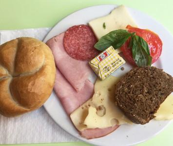 Frühstück im Das Möbel in Wien
