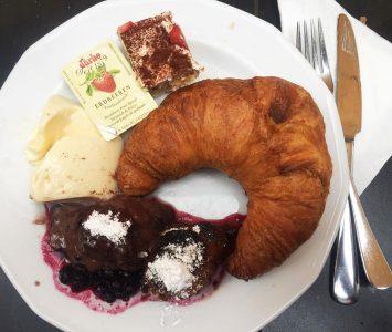 Frühstück im Caffe Latte in Wien