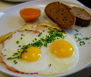 Frühstück im Himmelblau in Wien