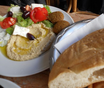Frühstück im Café Nil in Wien