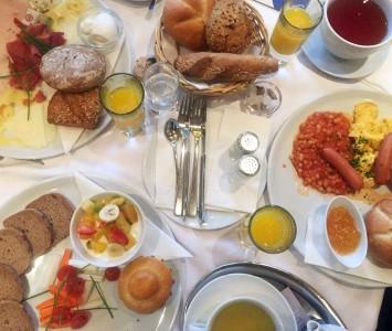 Frühstück im Blaustern in Wien