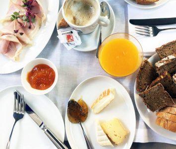 Frühstück im Fabios in Wien