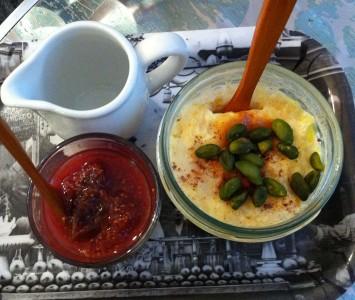 Frühstück in der Hidden Kitchen in Wien