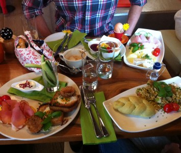 Frühstück im 220 Grad in Salzburg