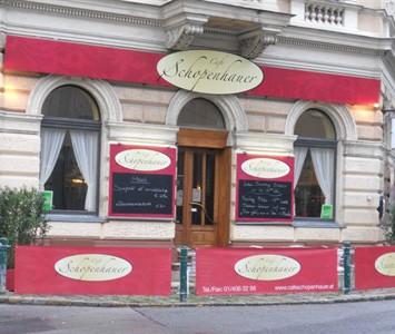 Frühstück im Café Schopenhauer in Wien