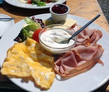 Oktogon - Frühstücken in Wien
