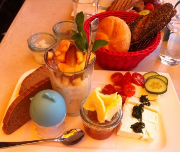Frühstücken in der Kaffeewerkstatt