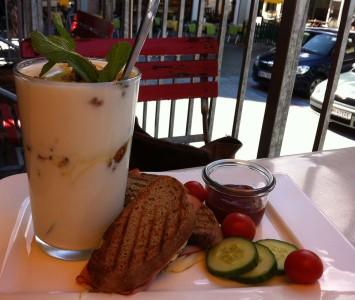 Frühstück in der Kaffeewerkstatt in St. Wolfgang