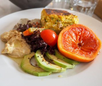 Frühstück im Cafè Menta in Wien