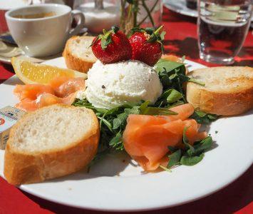 Frühstück im Frühstückssalon Augustin in Wien