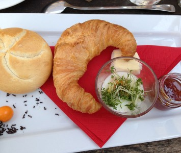 Frühstück im Salzberg
