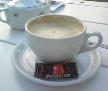 Frühstück in der Meierei in Gaaden