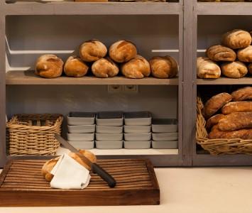 Frühstück in der Labstelle in Wien