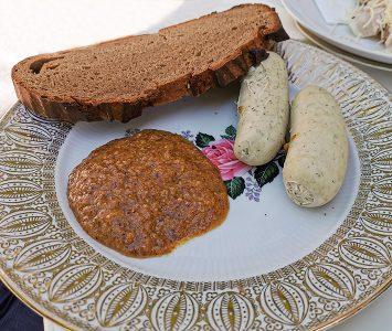 Frühstück in der Meierei Gaaden