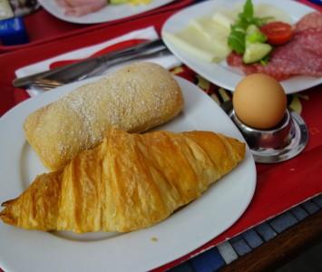 Frühstücken im phil in Wien