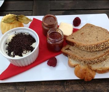 Frühstück im Salzberg in Wien