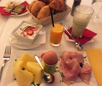 Frühstück im Porzellan in Wien