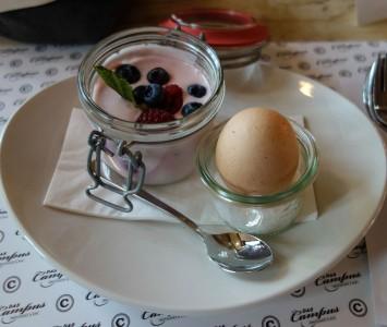 Frühstück im Das Campus in Wien