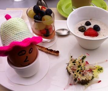 Frühstück im Glüxfall in Salzburg