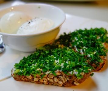 Frühstück im Mocarello in Wien