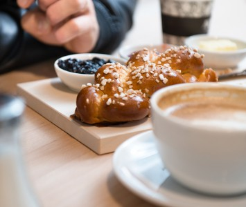 Frühstück bei Martin Auer in Graz