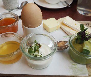 Frühstück im Joseph Bistro in Wien