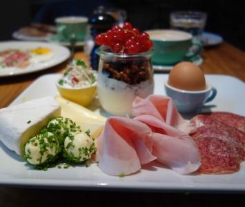 Frühstück im Ulrich in Wien