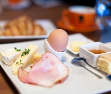 Frühstück im Edison in Wien