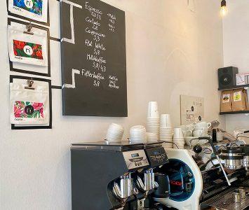 Frühstück im Kaffeemodul in Wien