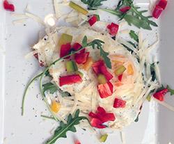 """Die Frühstückskombination """"Parmesano"""" in der Konditorei Gasser"""