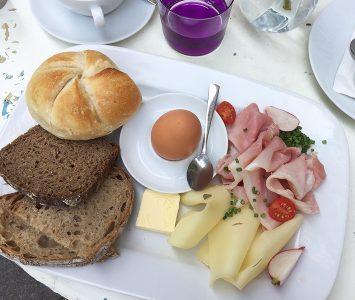 Frühstück im Supersense in Wien