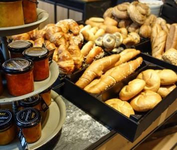 Frühstück im Ströck Feierabend in Wien