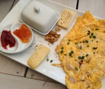Frühstück in der Manameierei in Wien
