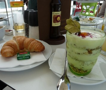 Frühstück im Stadtcafé in Salzburg