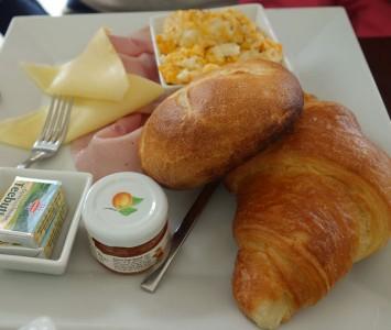 Frühstück im Urania Café in Wien
