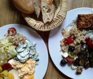 Frühstück im Dellago in Wien